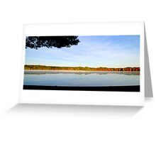 Across the Lake... Greeting Card