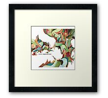 NUJABES METAPHORICAL MUSIC R.I.P Framed Print