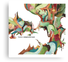 NUJABES METAPHORICAL MUSIC R.I.P Canvas Print