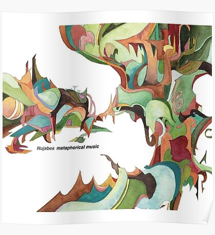 NUJABES METAPHORICAL MUSIC R.I.P Poster