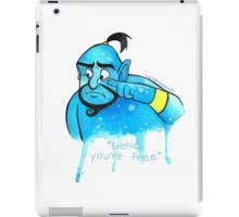 You're free. iPad Case/Skin