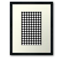 Retro Tiles Framed Print
