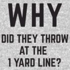 WHY did they throw? by brainstorm