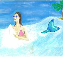 Mermaids need air by jojo456