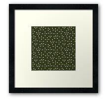 Eames Era Dots 46 Framed Print