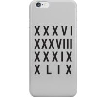 4 Titles iPhone Case/Skin