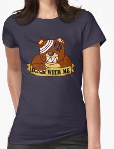 Bear With Me -Goreless- Womens Fitted T-Shirt