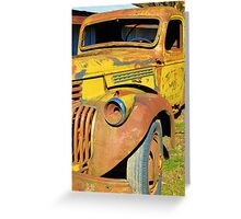 The Truck Greeting Card