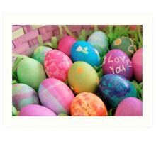 Easter Art Print