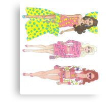 Moschino Barbies Canvas Print