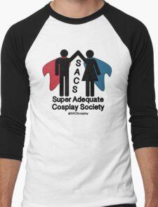 SACS symbol Men's Baseball ¾ T-Shirt