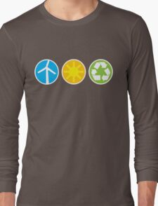Wind Solar Recycle Long Sleeve T-Shirt