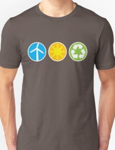 Wind Solar Recycle Unisex T-Shirt