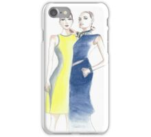 Two models iPhone Case/Skin