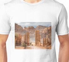 Temenos Gateway in Petra, Jordan Unisex T-Shirt