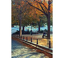 Harmony In Autumn Photographic Print