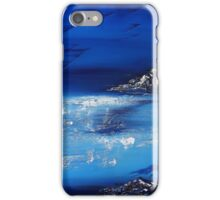 Winter scene in the alps iPhone Case/Skin