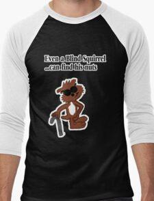 Blind Squirrel  Men's Baseball ¾ T-Shirt