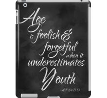Age and Youth iPad Case/Skin