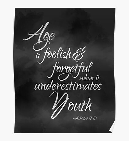 Age and Youth Poster