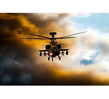 Apache Hunter  Photographic Print