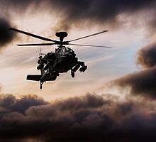 Apache Warrior  by J Biggadike