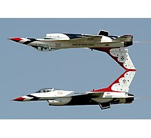 Thunderbirds - USAF US Air Force Display Team - Great aviation photo Photographic Print