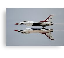 Thunderbirds - USAF US Air Force Display Team - Great Aviation Aerial Photo Canvas Print