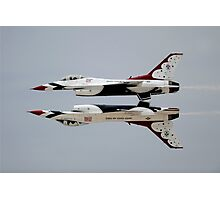 Thunderbirds - USAF US Air Force Display Team - Great Aviation Aerial Photo Photographic Print