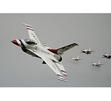 Thunderbirds - US Air Force Display Team - Great Aviation Aerial Photo Photographic Print