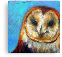 Insight: Barn Owl Canvas Print