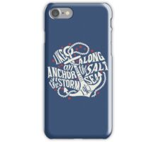 Like an Anchor In The Storm iPhone Case/Skin