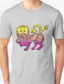 Medieval Lion Unisex T-Shirt