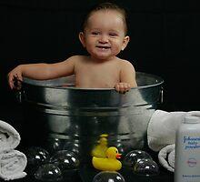 Jake's Bath Time Fun by abfabphoto