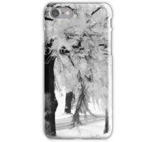 When the snow falls iPhone Case/Skin