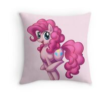 Pinkie Pie is the best pink pony Throw Pillow