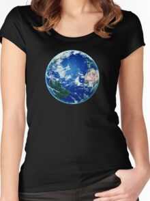 Earth - The Blue Planet Women's Fitted Scoop T-Shirt