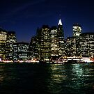 Manhattan Skyline by abfabphoto
