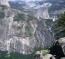 Yosemite Outcrop by Laurie Puglia