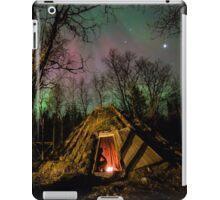 Aurora over a Sami Roundhouse iPad Case/Skin