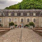 Chateau de Villandry, Loire Valley, France #3 by Elaine Teague