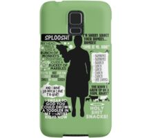 Archer - Pam Poovey Quotes Samsung Galaxy Case/Skin