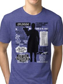 Archer - Pam Poovey Quotes Tri-blend T-Shirt