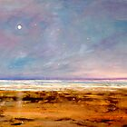 """Solitude"" Beach Ocean Print by ToniGrote"