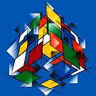 Rubik's Cubism by David Benton