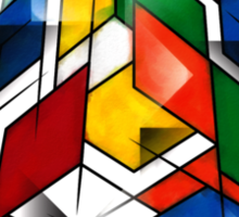 Rubik's Cubism Sticker