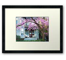 The Porch Framed Print