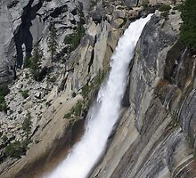 Waterfall at Yosemite National Park by Laurie Puglia