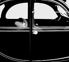 2CV Black by Daniel Sorine