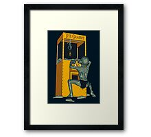 The Grabbit Framed Print